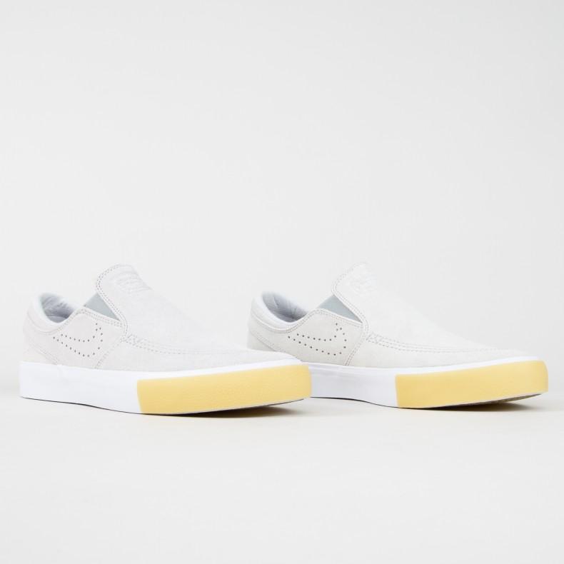 new concept 18a02 db0c8 Nike SB Zoom Stefan Janoski Slip RM SE. (White White-Vast Grey-Gum ...