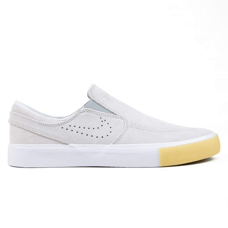 get cheap ee063 7deb7 Nike SB Zoom Stefan Janoski Slip RM SE (White White-Vast Grey-Gum Yellow) -  CD6613-100 - Consortium