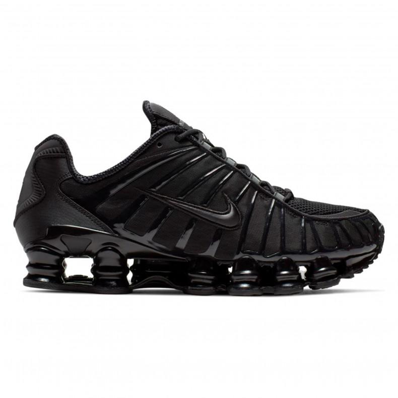 3654dffd170c Nike Shox TL  Black Fury  (Black Black-Black) - BV1127-001 - Consortium