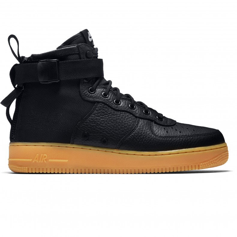 94d3f53a28ff Nike Special Field Air Force 1 Mid (Black Black-Gum Light Brown ...