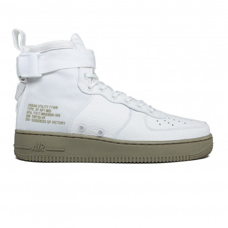 2bd40f8c7cd5 Nike Special Field Air Force 1 Mid  Urban Utility  (Ivory Ivory-Neutral  Olive) - Consortium.