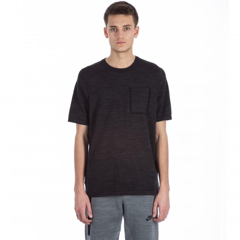 3d09498c1 Nike Tech Knit Pocket T-shirt (Black/Anthracite) - Consortium.