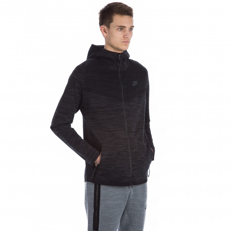 Nike Tech Knit Windrunner Jacket (BlackAnthracite