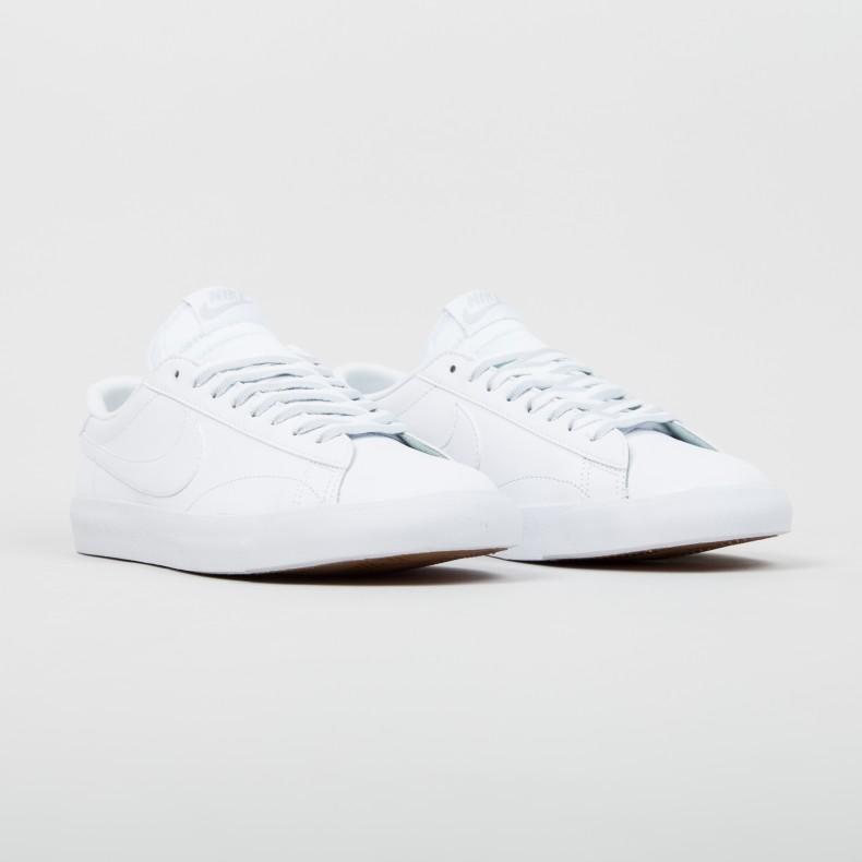 Nike Tennis Classic Ac Nd White/White-Pure Platinum-Gum Medium Brown - Tennis Shoes