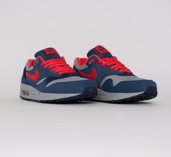separation shoes e2ae2 00253 Nike Air Max 1. (Wolf Grey Sunburst-Utility Blue-Light ...