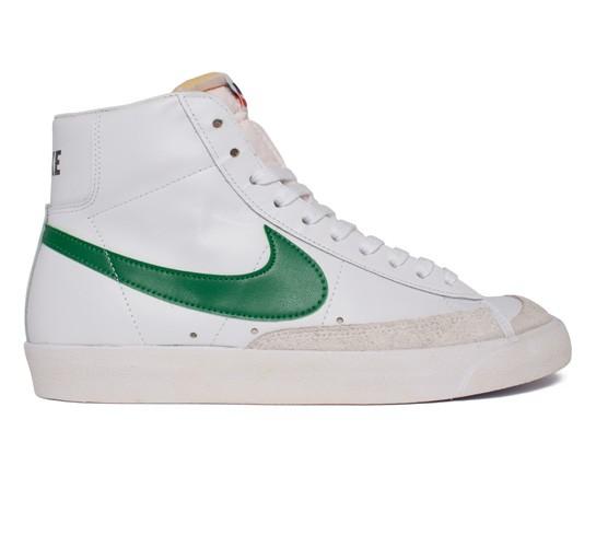 big sale c9157 ae629 Nike Blazer Mid  77 Premium Vintage (White Pine Green-Black-Team Orange) -  Consortium.