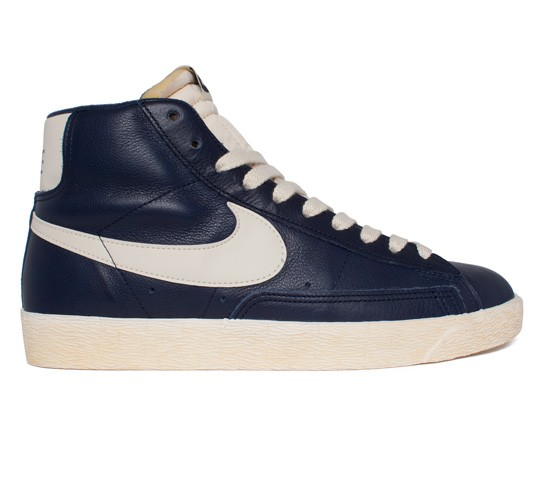 buy online a5d83 47517 Nike Blazer Mid Leather Vintage (Obsidian/Natural) - Consortium.