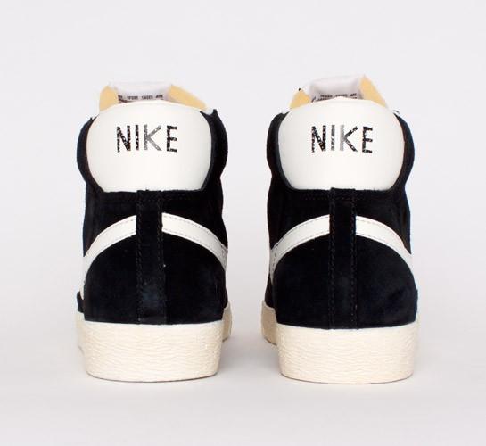 wholesale dealer aa119 e2fbd Nike Blazer Mid Premium Vintage Suede. (Black Sail)