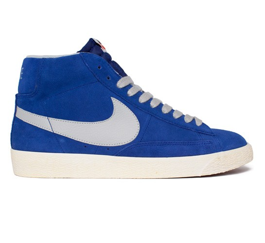 newest e6d3d be9f3 Nike Blazer Mid Premium Vintage Suede (Deep Royal Blue/Start ...