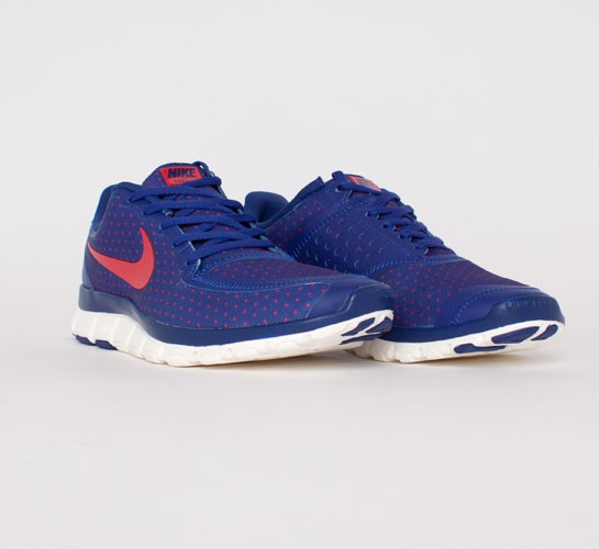 8c54fa45488f discount code for nike free 5.0 sneaker deep royal blue hyper red sail  8f085 8f633
