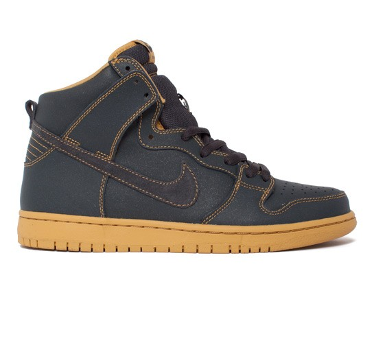 a4fb6bc0f18f Nike SB Dunk High Pro (Anthracite Anthracite-Golden Straw) - Consortium.