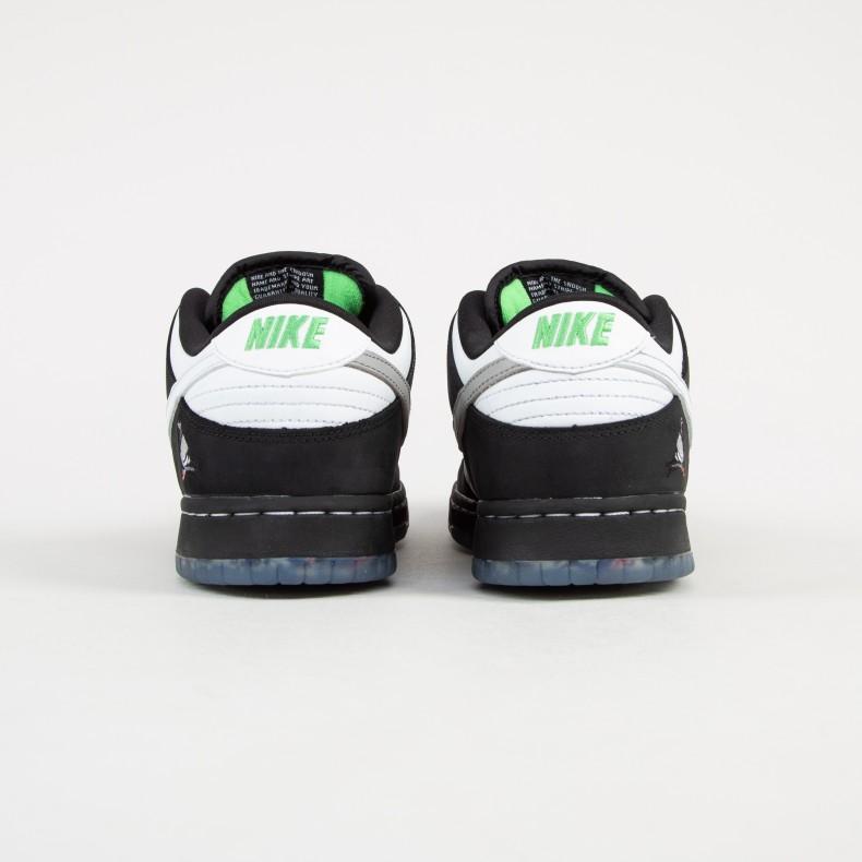 c5634d03a3a Nike SB x Staple Dunk Low Pro OG 'Panda Pigeon' QS (Black/White ...