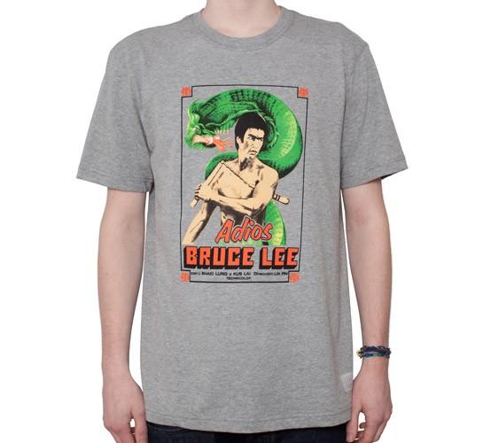 Nike SB P. Rod x Bruce Lee Adios Grey T Shirt | Zumiez