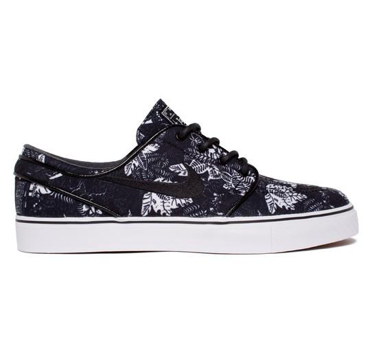 lowest price dfb48 0e258 Nike SB Stefan Janoski Black Floral (Black Black-White) - Consortium.