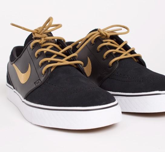 Nike Stefan Janoski Black Gold