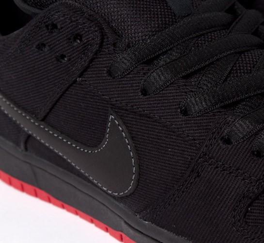 wholesale dealer 348e3 227d5 Nike SB X Levi's Dunk Low Premium (Black/Black) - Consortium.