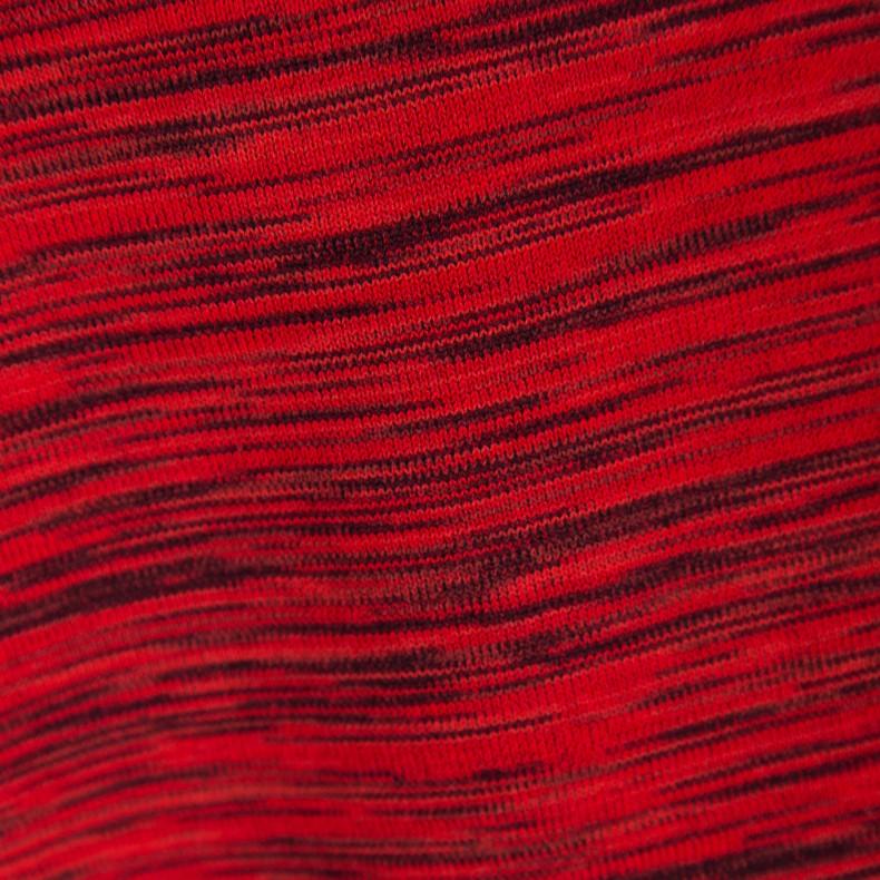Nike Tech Knit Pocket T Shirt University Red Black Black