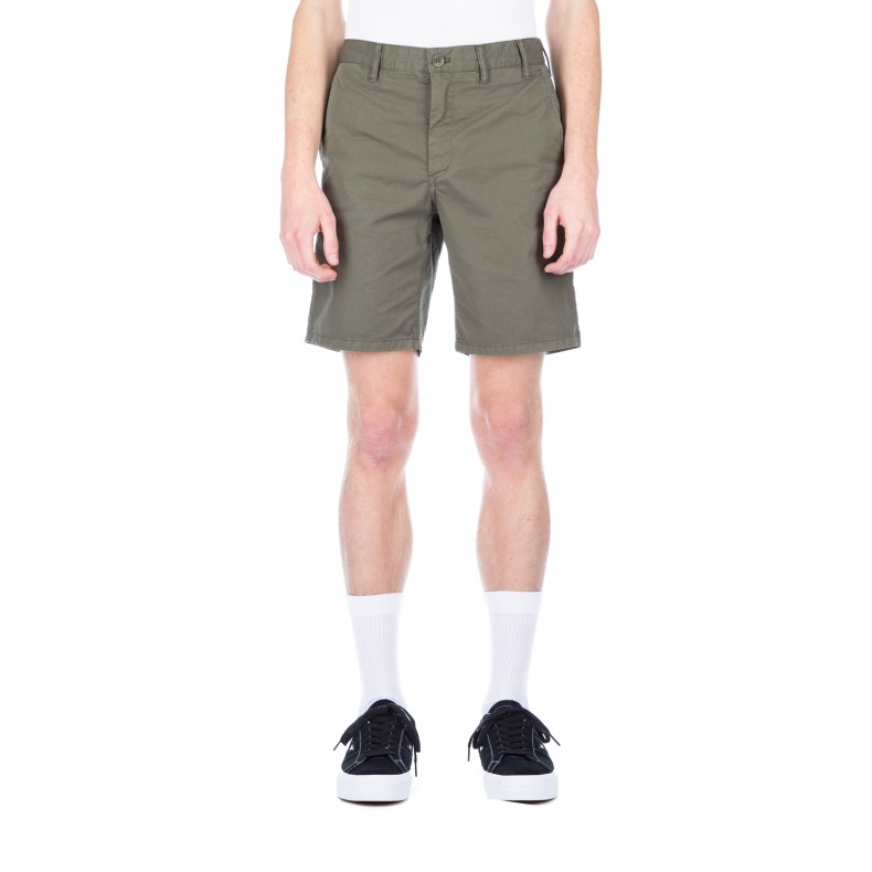Norse Projects Aros Light Twill Shorts (Dried Olive) - Consortium. 751a7599b