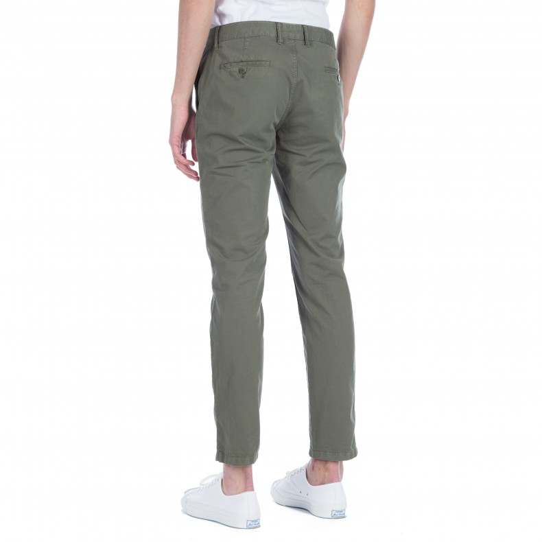 16769ef9a09 Norse Projects Aros Slim Light Twill Chino (Dried Olive) - Cosnoritum.