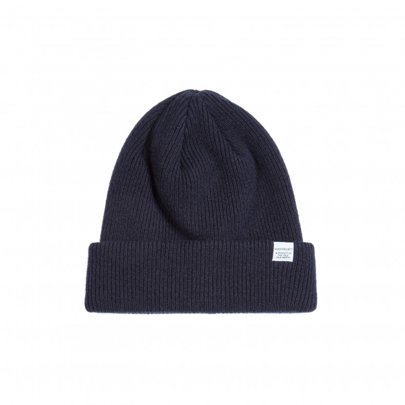 Norse Projects Beanie (Navy) - Consortium. 7af26317b5f
