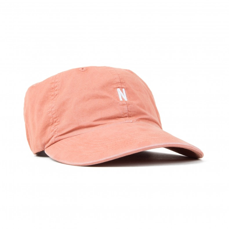 b827e279a2f Norse Projects Light Twill Sports Cap (Fusion Pink) - Consortium.