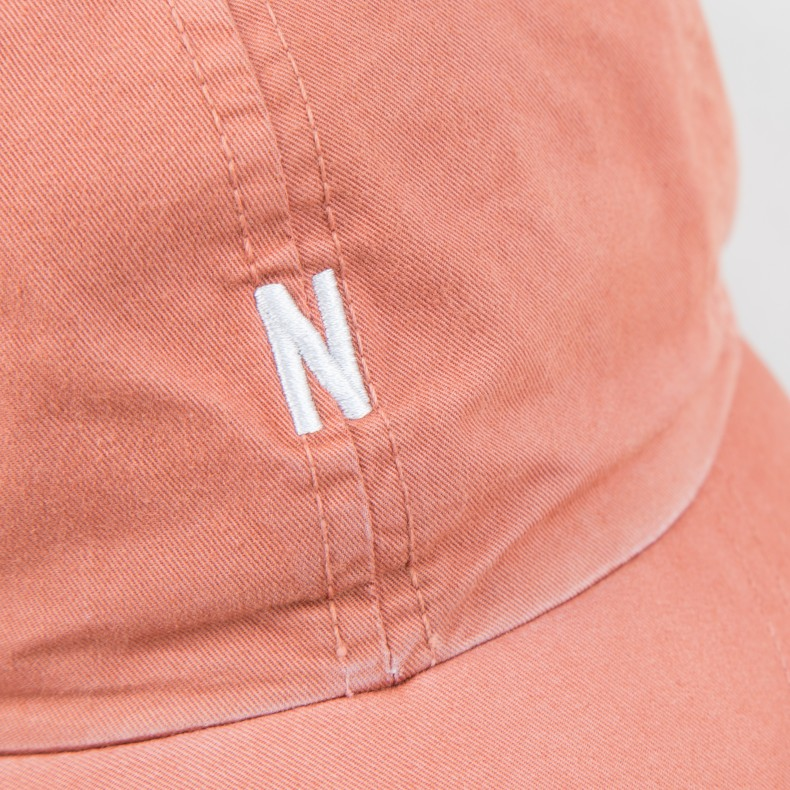 d8b703ed44e Norse Projects Light Twill Sports Cap (Fusion Pink) - Consortium.