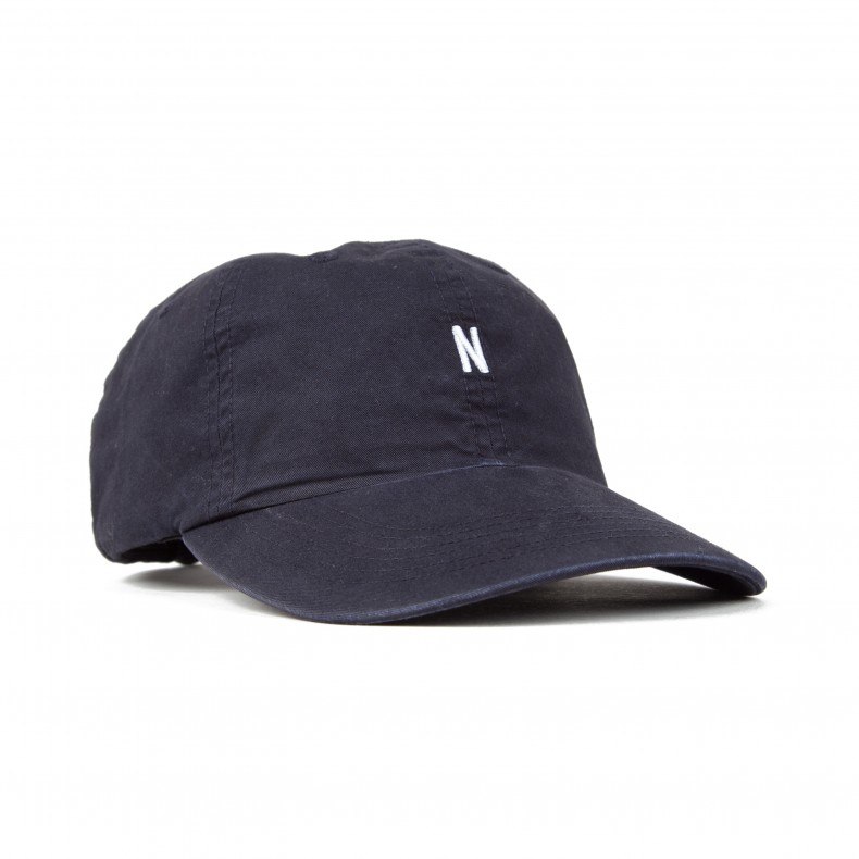 Norse Projects Light Twill Sports Cap (Navy) - Consortium. 30916e71504