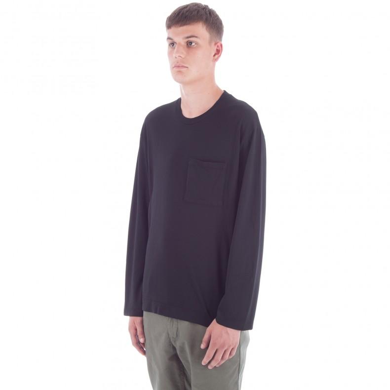 4e544e67b2a6 Our Legacy Box Long Sleeve T-Shirt (Black Army Jersey) - Consortium.