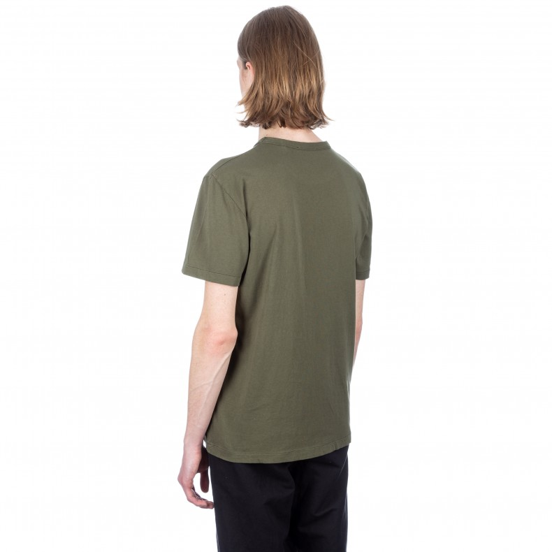8f59e86c6 Our Legacy Perfect T-Shirt (Olive Army Jersey) - Consortium.