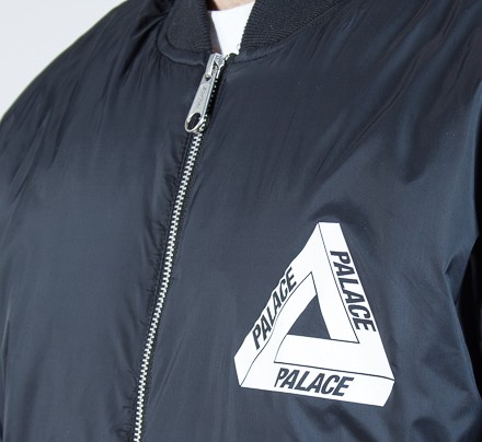 30e74678a alace Thinsulate Bomber Jacket (Anthracite) - Consortium.