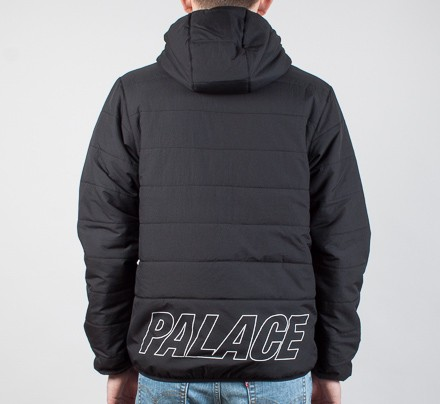 d22f58bfe Palace Crink Thinsulate Jacket (Anthracite) - Consortium.