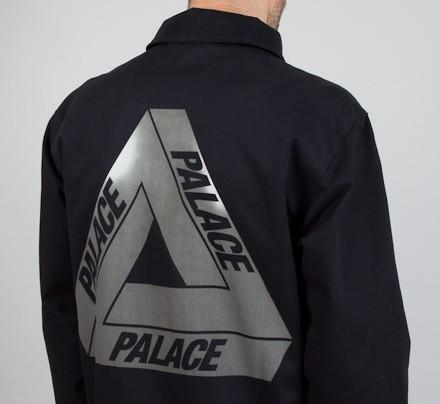 Palace Hyper Coach Jacket Black Consortium