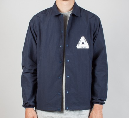 Palace Tech Coach Jacket Navy Consortium