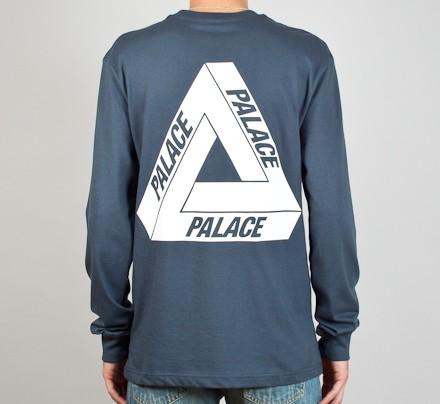 02a5ddbf8d74 Palace Tri Ferg 1 Long Sleeve T-Shirt (Coral) - Consortium