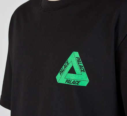 27d40cd72b06 Palace Tri-Line Rasta T-Shirt (Black) - Consortium.