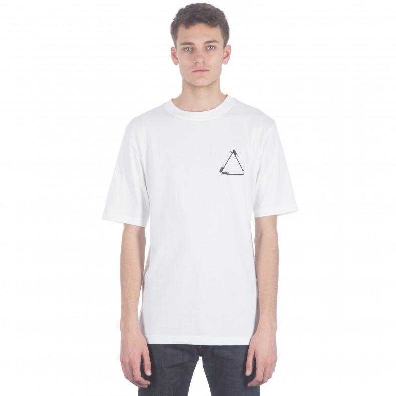 be815646b633 Palace Tri-Smoke T-Shirt (White) - Consortium.