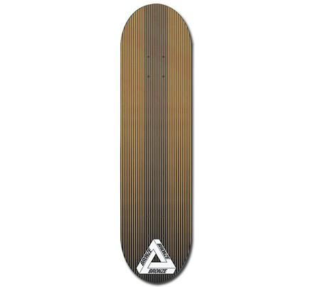 25b7d7824273 Palace x Bronze Linear Skateboard Deck 8.2