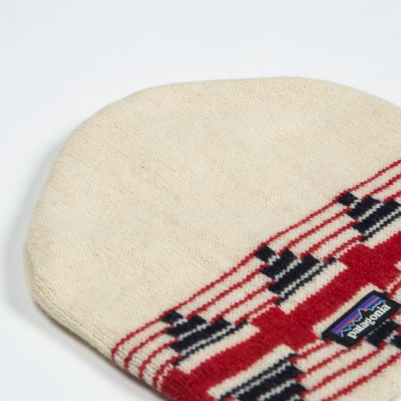 Patagonia Backslide Beanie (Pueblo Stripe  Toasted White) - Consortium. 3bf6983ac27