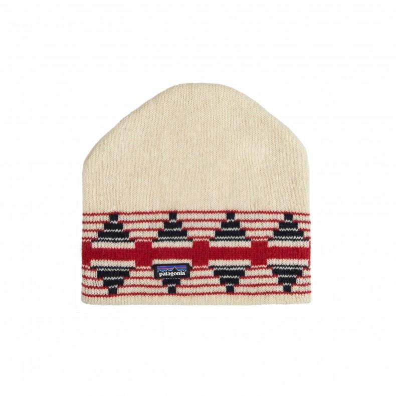 Patagonia Backslide Beanie (Pueblo Stripe  Toasted White) - Consortium. 995fd62b2c4