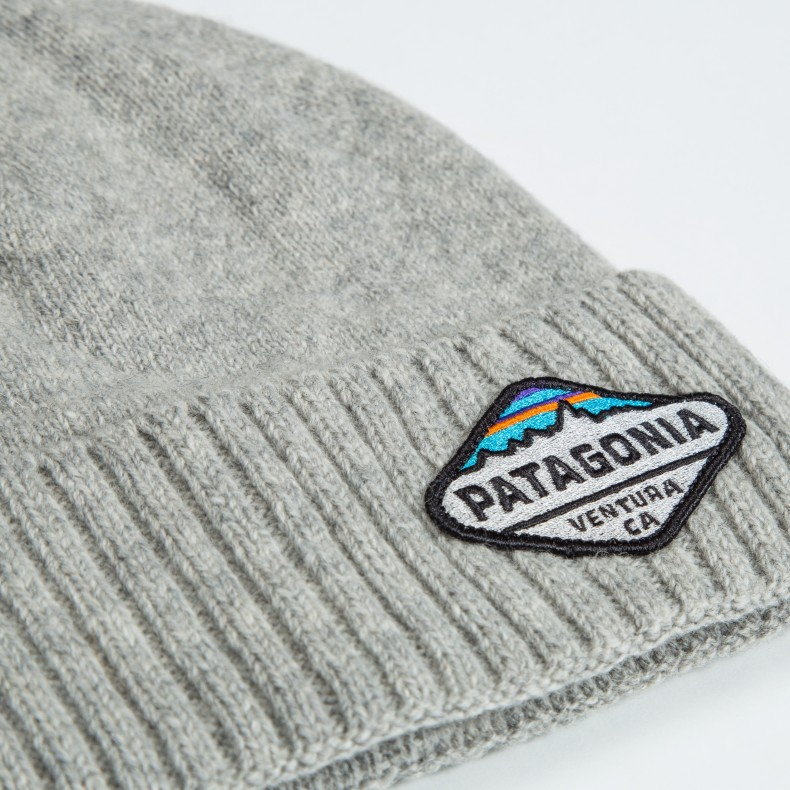 6f3ad22b217 Patagonia Brodeo Beanie (Fitz Roy Crest  Drifter Grey) - Consortium.