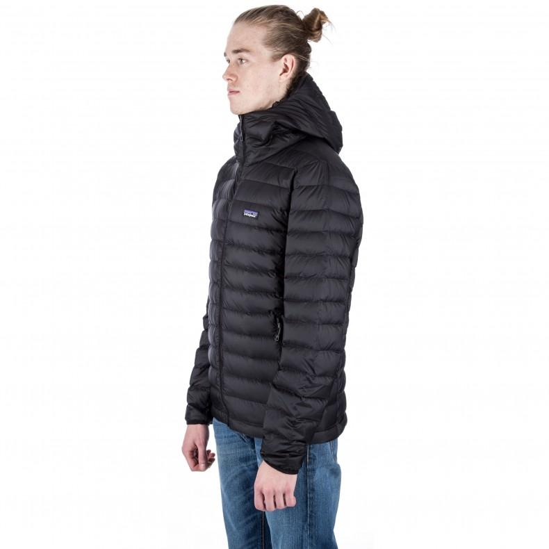 Patagonia Down Sweater Hoody Black Consortium