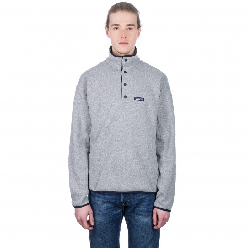 6c876ce450a434 Patagonia Lightweight Better Sweater Marsupial Fleece Pullover (Feather  Grey) - Consortium.