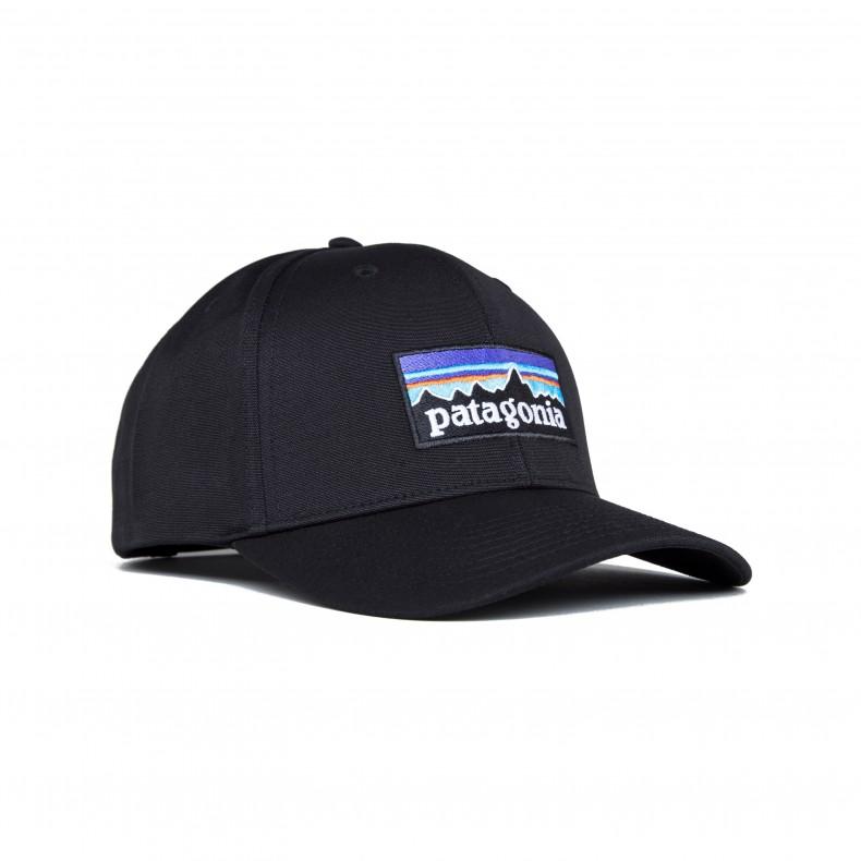 Patagonia P-6 Logo Roger That Cap (Black) - Consortium. e695b44dedd