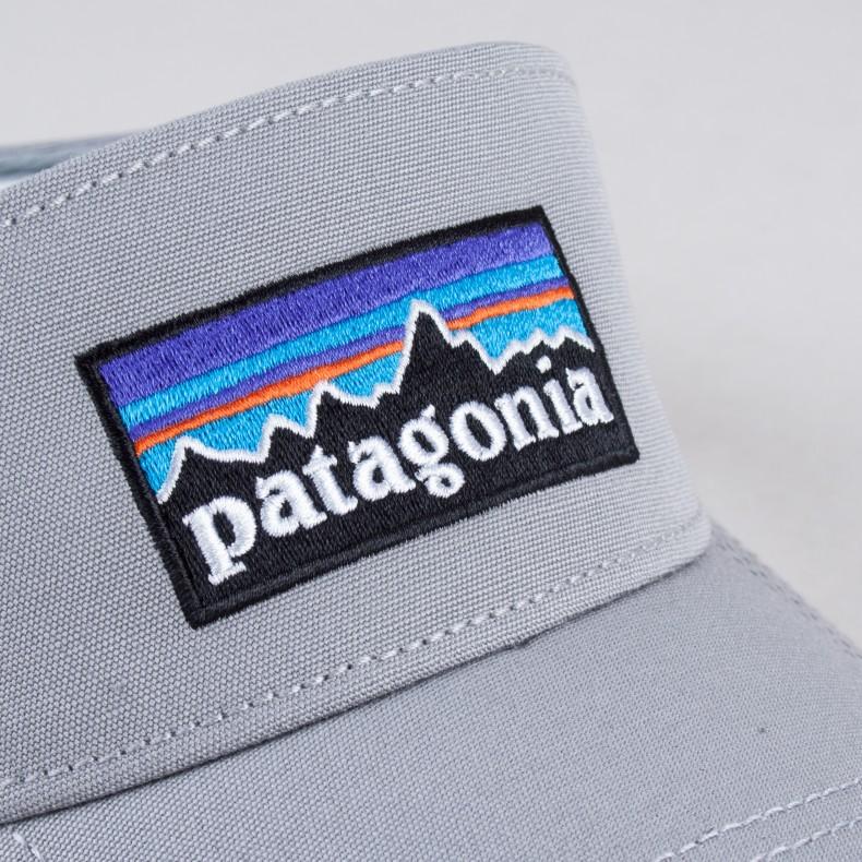 6e018599 Patagonia P-6 Logo Visor (Drifter Grey) - Consortium.