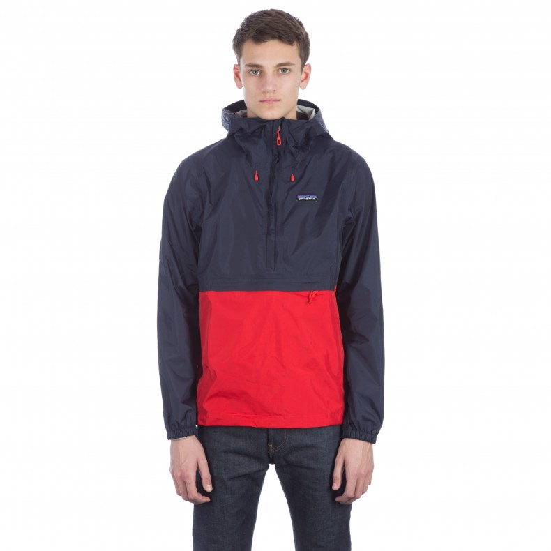 100% satisfaction guarantee great deals on fashion picked up Patagonia Torrentshell Pullover Jacket (Navy Blue) - Consortium