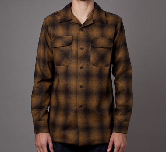 Pendleton Fitted Board Shirt Bronze Ombre Consortium