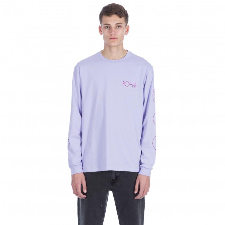 polar racing long sleeve t shirt lavender consortium
