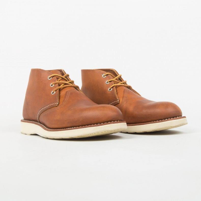 9ce5bd0311a Red Wing 3140 Work Chukka Boot (Russet)