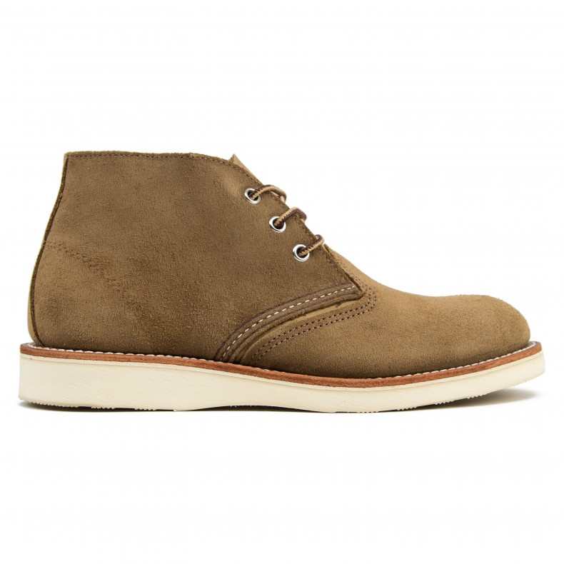 ba579410 Red Wing 3149 Classic Chukka Boot (Olive Mohave Leather) - Consortium.