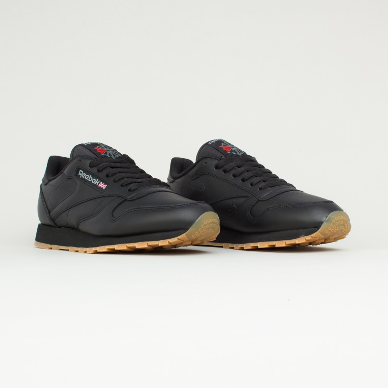 Reebok Classic Leather (Black Gum) - Consortium. e0dfd5833